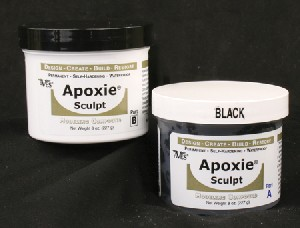 APOXIE SCULPT 1# BLACK
