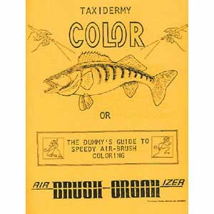 TAXIDERMY COLOR WORKBOOK