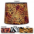 "CHEETAH LAMP SHADE 10"" X 12"""