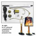 SINGLE FOOT LAMP KIT DEER MEDIUM