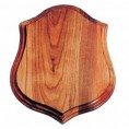 "SMALL HORN MOUNT PANEL WALNUT 10"" X 12"""