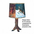 4 FOOTED LAMP KIT DEER MEDIUM