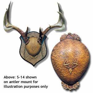 ANTLER MOUNT COVER Research Mannikins Taxidermy Supplies