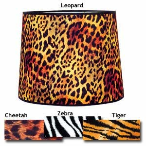 "CHEETAH LAMP SHADE 7"" X 9"""