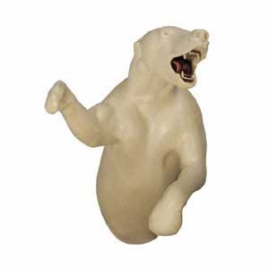 BLACK BEAR 3/4 LIFESIZE LT UPRIGHT OM