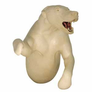 BLACK BEAR 1/2 LIFESIZE LT NON-DETAIL JAWS