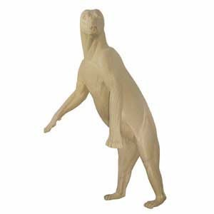GRIZZLY/BROWN BEAR LIFESIZE LT STANDING ON HI