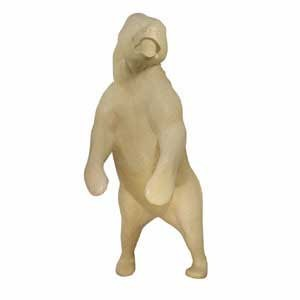 GRIZZLY/BROWN BEAR LIFESIZE LT ON HIND LEGS C