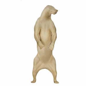 GRIZZLY/BROWN BEAR LIFESIZE LT HIND LEGS