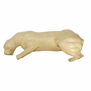 COUGAR LIFESIZE LT CROUCHED ON SHELF NON-DETA