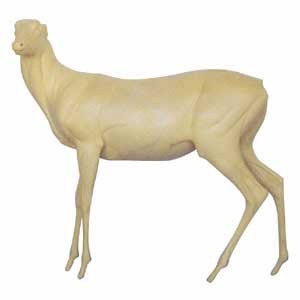 WHITETAIL LIFESIZE HARD LT STANDING