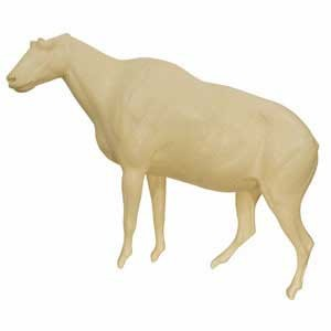 MOUNTAIN GOAT LIFESIZE LT FRONT ELEVATED