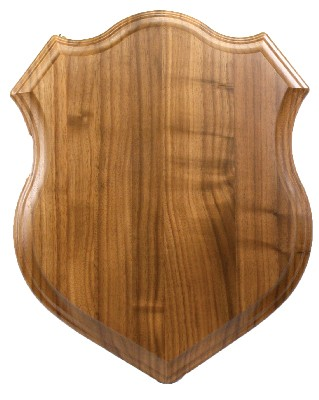 SHIELD 18X24 WALNUT