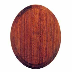 "OVAL PANEL WALNUT 8"" X 10"""