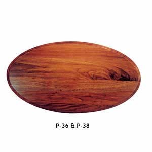 "FISH MOUNTING PANEL WALNUT 16"" X 32"""