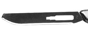 STAINLESS STEEL SCALPEL BLADE ROUNDED