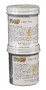 CLEAR PASTE ADHESIVE 8 OZ