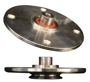 STAINLESS STEEL HUB FOR ADVANCED FLESHING