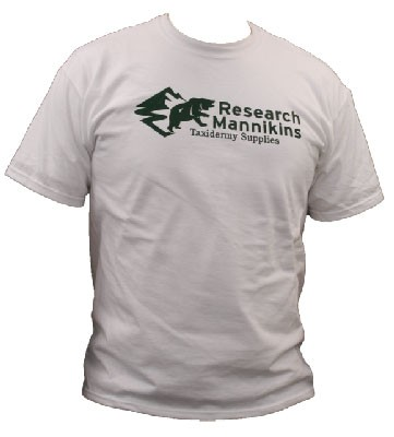 RESEARCH MANNIKINS T-SHIRT WHITE LARGE