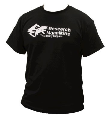 RESEARCH MANNIKINS T-SHIRT BLACK XXL