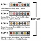 RUB ON PAINT 4 PALETTE SET