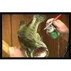 PAINTING A LARGE MOUTH BASS W/ BILL LEACH