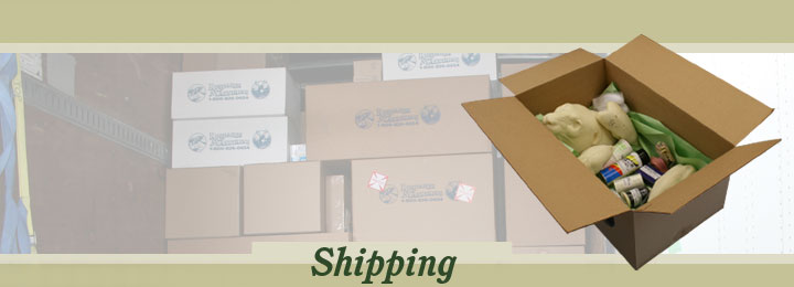 Research Mannikins Shipping Information